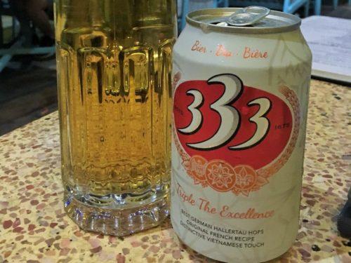 ベトナム料理 333 ビール