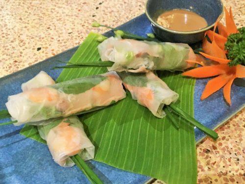 ベトナム料理 生春巻き