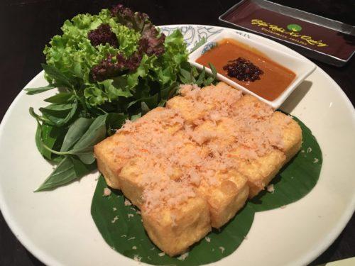 ベトナム料理 Bep Nha Xu Quang 豆腐料理