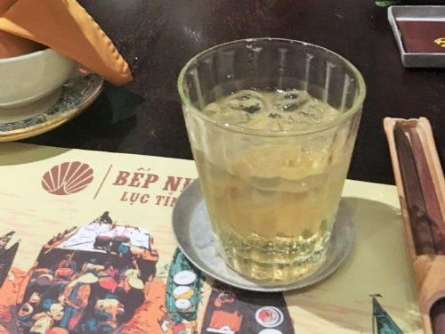ベトナム料理 Bep Nha Xu Quang グーズベリーワイン