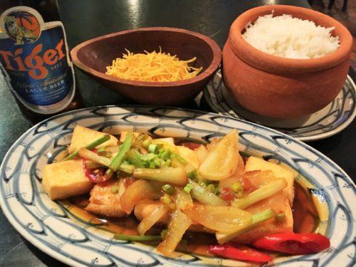 ベトナム料理 Chi Hoa 豆腐料理