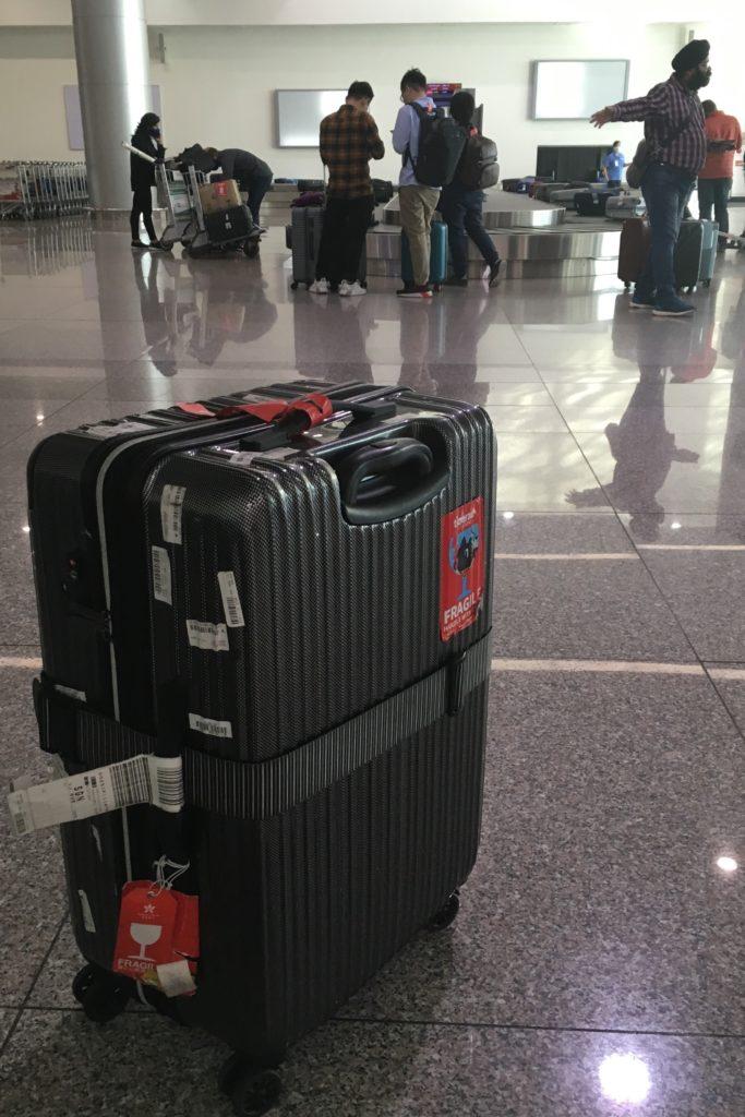 海外旅行 スーツケース
