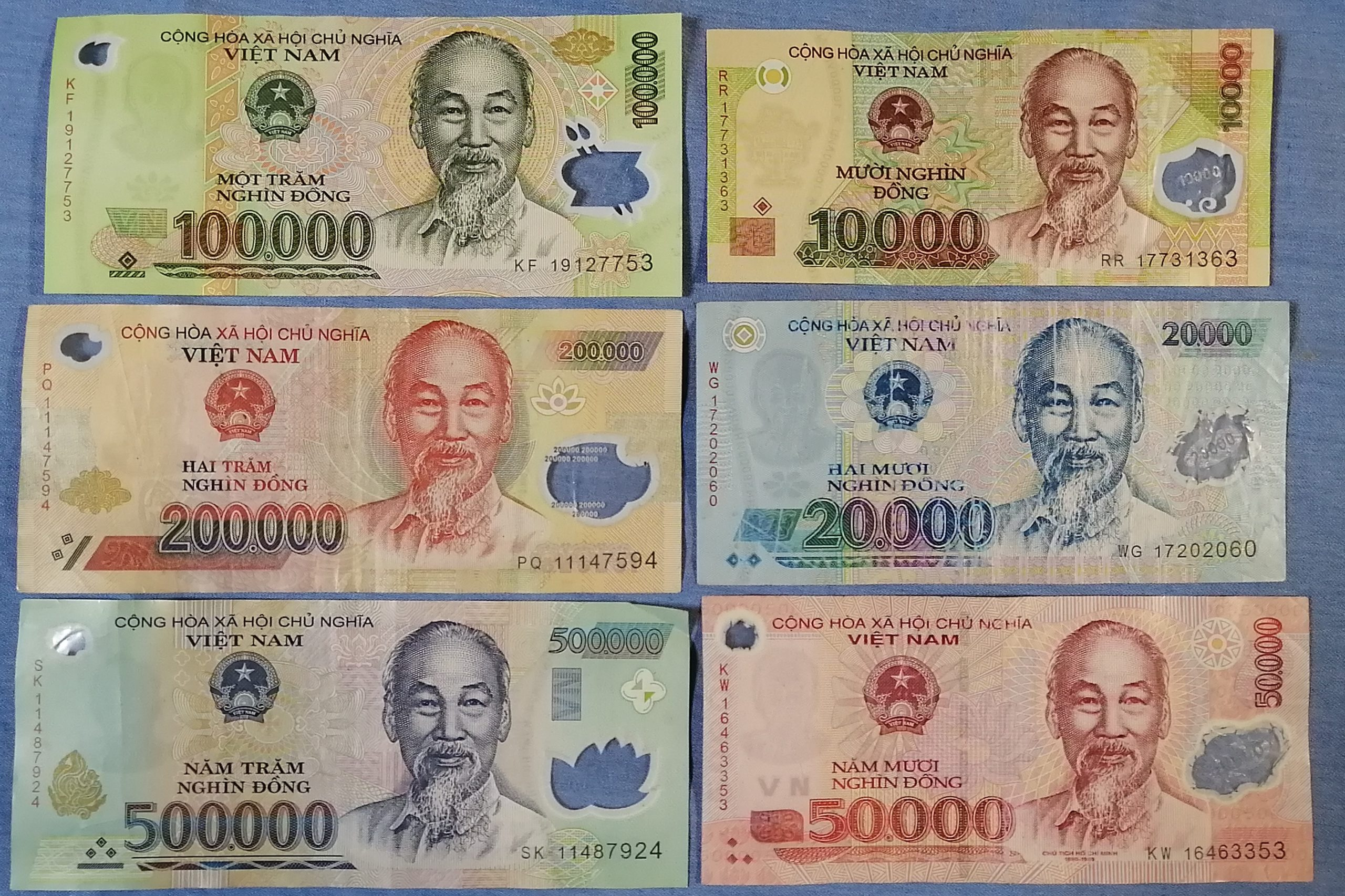 ベトナム 紙幣