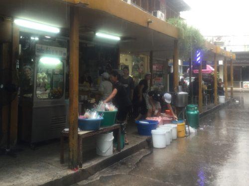 バンコク旅行 雨季