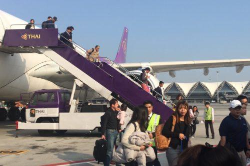 バンコク旅行 スワンナプーム空港