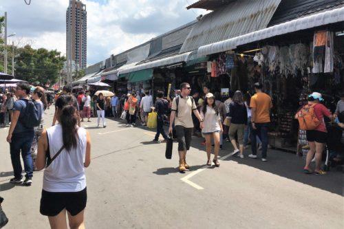 タイバンコク旅行 チャトゥチャックウィークエンドマーケット