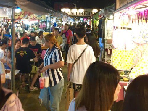 バンコク旅行 市場