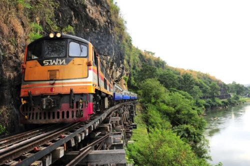 タイバンコク旅行 アルヒル桟道橋