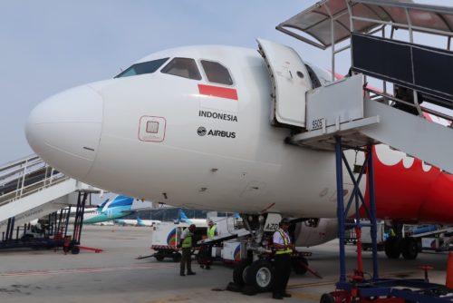 ジャカルタ旅行 Air