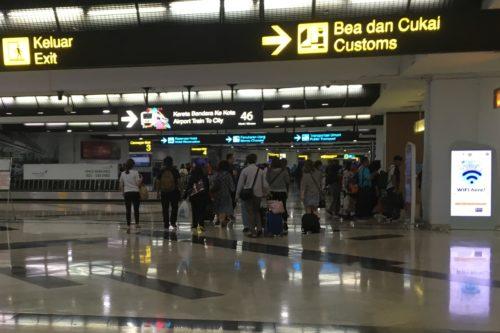 ジャカルタ旅行 スカルノハッタ空港