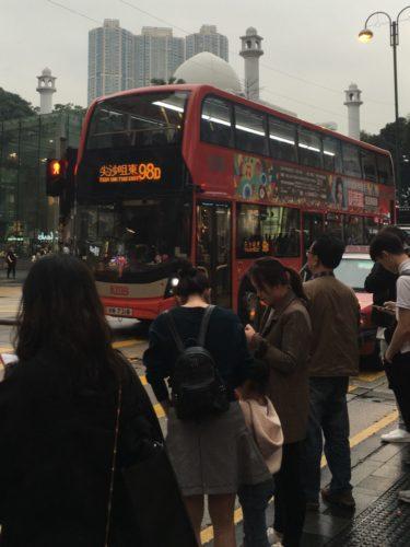 香港旅行 ロンドンバス