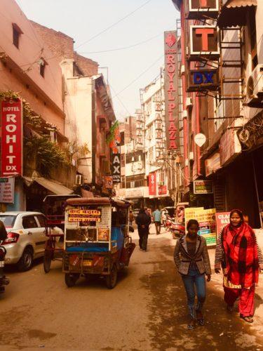 パハールガンジエリア ホテル街