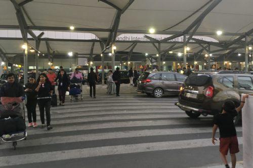 インド旅行 デリー 空港