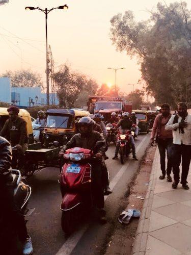 インド旅行 デリー 街中