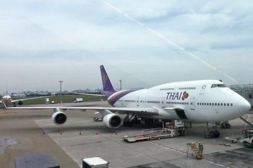 バンコク旅行 タイ航空