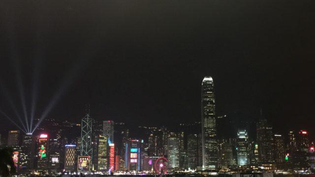 香港旅行 100万ドルの夜景