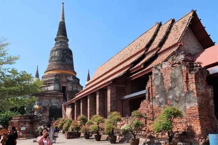 タイ旅行 アユタヤ遺跡