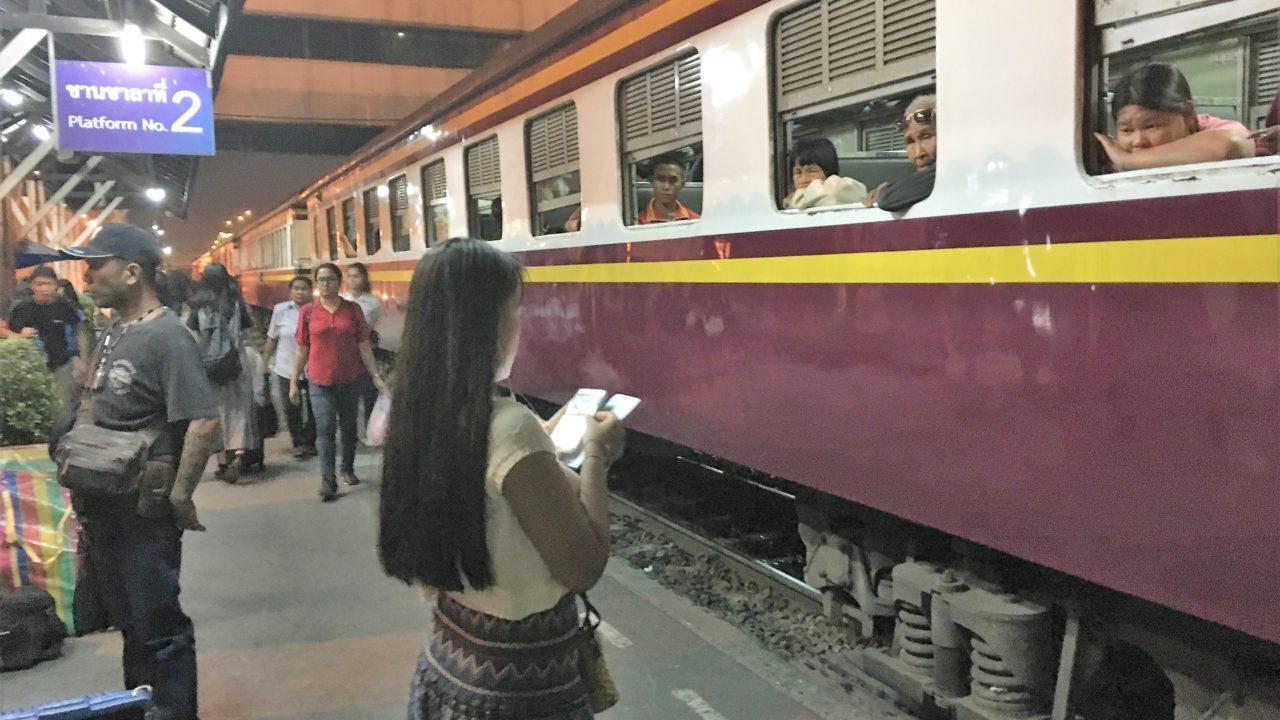 タイ旅行 ドンムアン 鉄道