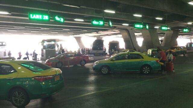 タイ 治安 タクシー