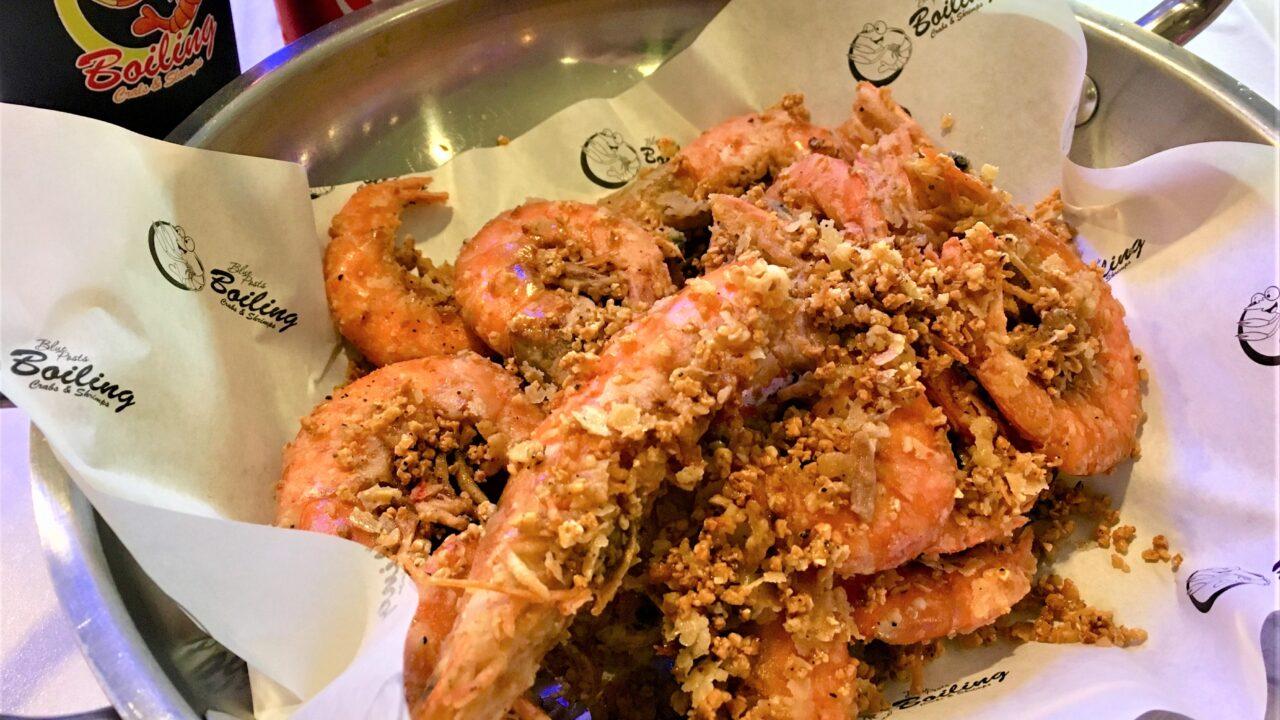 フィリピンダバオ Blue Post Boiling Crabs & Shrimps