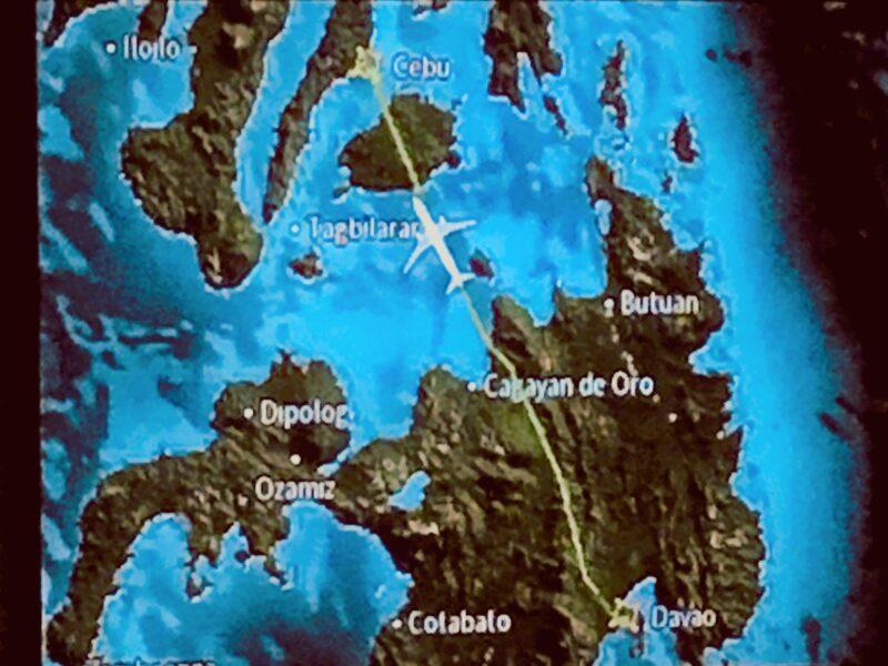 Davao Cebu map